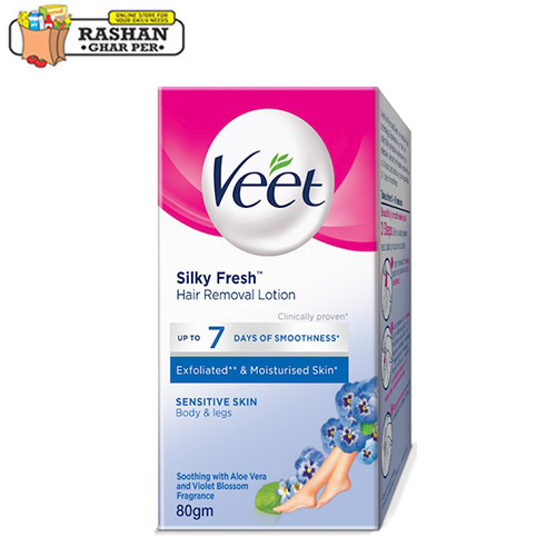 Veet Hair Removal Lotion Sensitive Skin 80gm Your Ultimate
